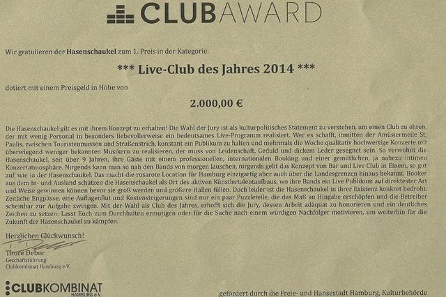 Hasenschaukel-Rettung: Erhalt von Hamburgs charmantem Live-Club