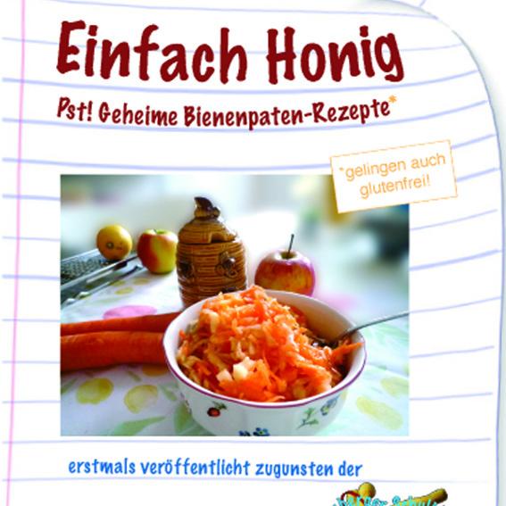 5 Motivpostkarten + Honig-Rezept-Büchlein