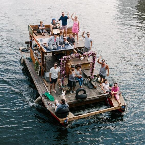 Floßfahrt für 20 Personen
