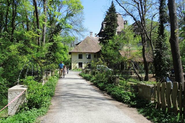 Sanierung des historischen Kastells in Schönau