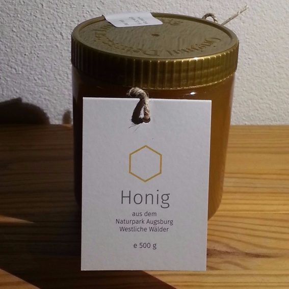 2 Gläser Honig