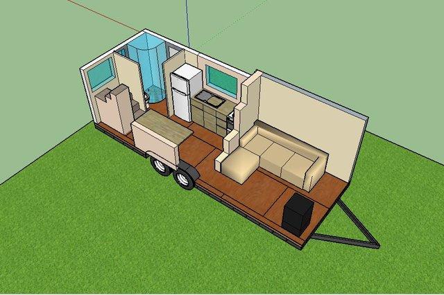 tiny movement ein modernes haus auf r dern. Black Bedroom Furniture Sets. Home Design Ideas