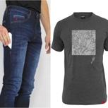 Jeans + T-Shirt Kombi
