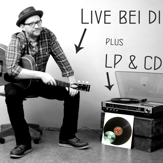Das Album Live bei dir zu Hause + LP & CD