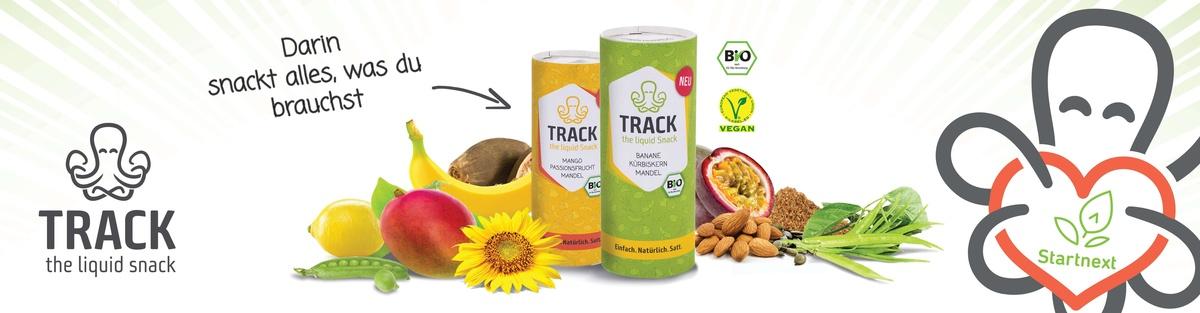 TRACK - der funktionelle Snack zum Trinken