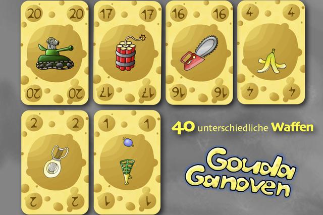 Gouda Ganoven - Kartenspiel