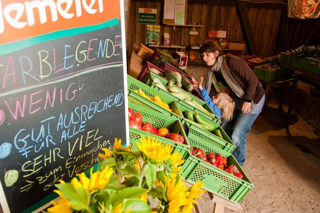 Zukunftsgeräte für Zugpferde und Gemüseanbau