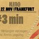 Ticket (Frühbucherrabatt) für Frankfurt 27.11. Premiere
