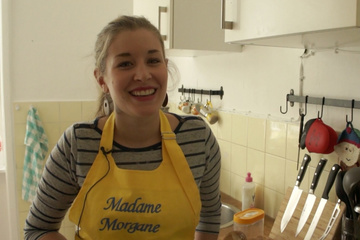Madame Morgane - a crêperie on wheels