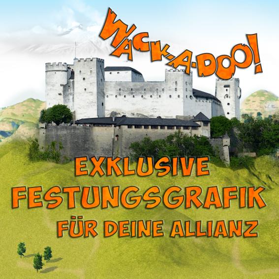 Allianz-Festungs-Paket: eine spezielle Festungsgrafik für Eure Allianz incl. Allianz-Lifetime-Paket