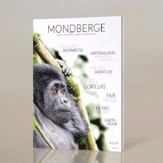 Erste Ausgabe des Mondberge-Magazins