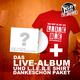 live CD + L.I.E.B.E. - Shirt