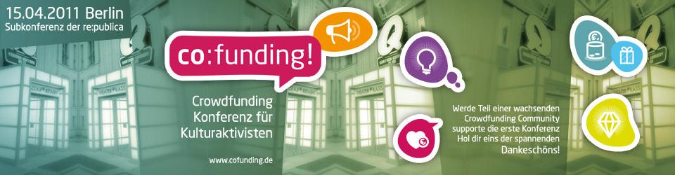 co:funding - Die 1. Crowdfunding Konferenz auf der re:publica 15.04.