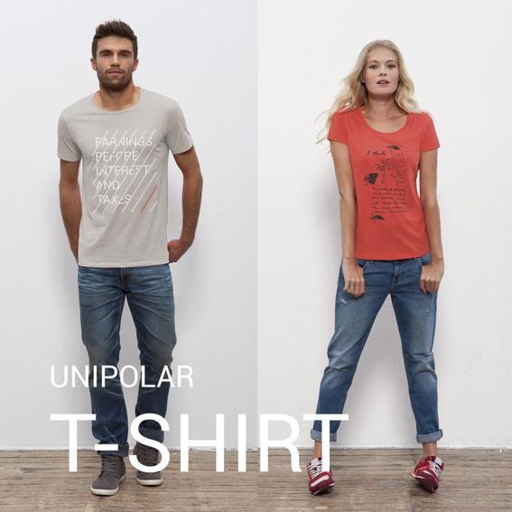 UNIPOLAR T-Shirt deiner Wahl