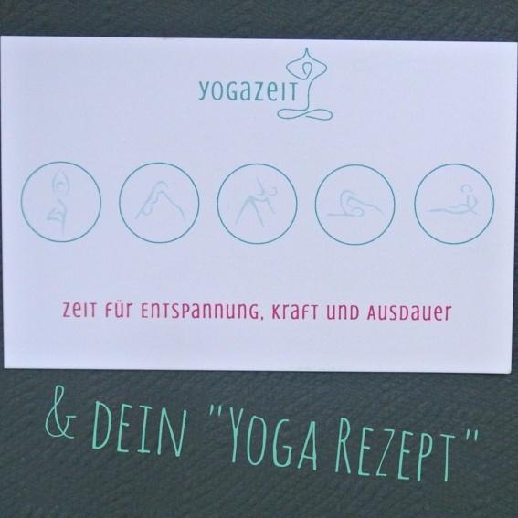 """5-er Karte (zeitlich unbegrenzt) + Dein """"Yoga-Rezept"""""""