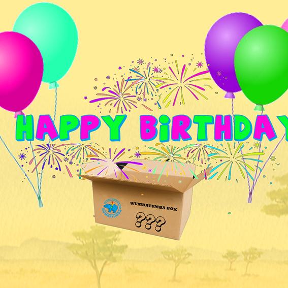 WUMBATUMBA Happy Birthday Box