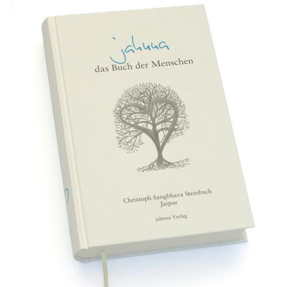 Ein handsigniertes Exemplar von ‹jahnna – das Buch der Menschen›