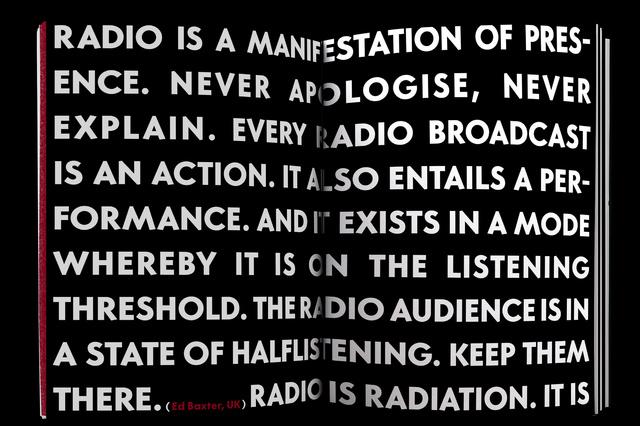 Radio Revolten. 30 Days of Radio Art