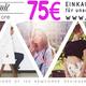 75 Euro Einkaufsgutschein für unseren Online Shop