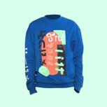 Ksti Hu – limited hoodie »baby blue«