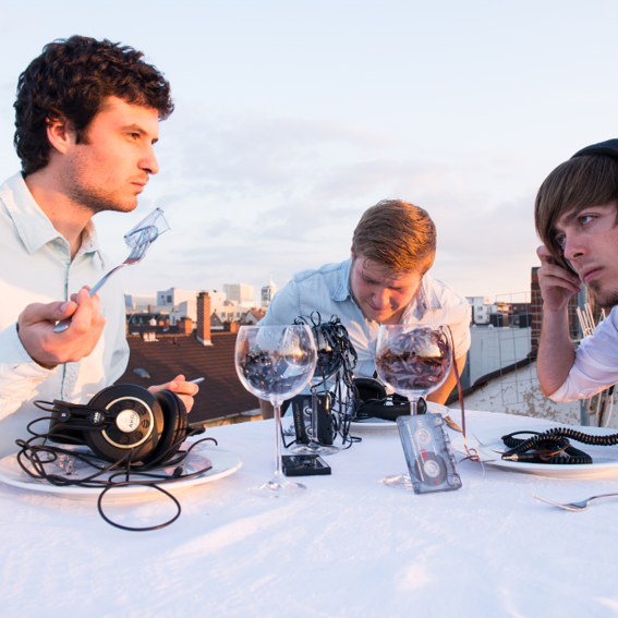 Deluxes Dinner mit trio de lucs
