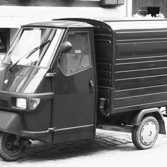 Piaggio Ape fahren / Spin with Piaggio Ape