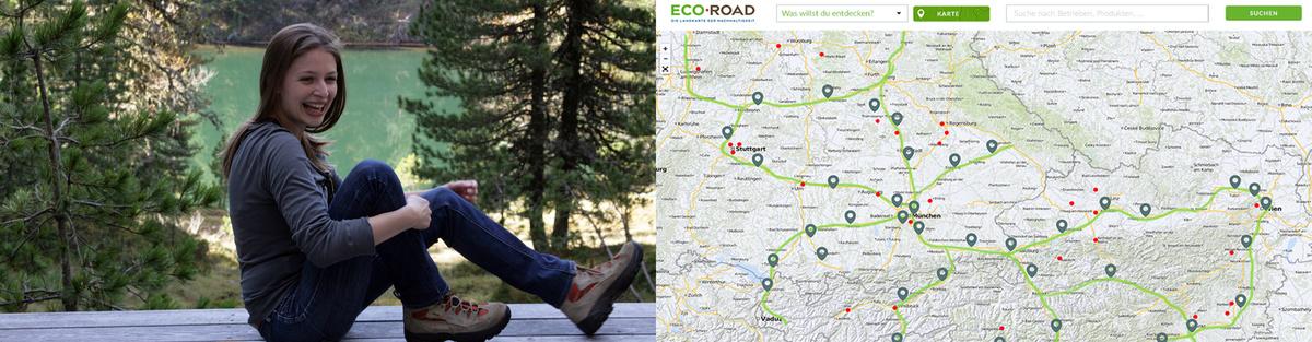 ECO ROAD - Die Landkarte der Nachhaltigkeit
