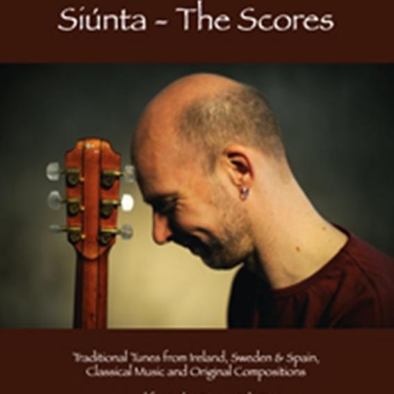 """Jens Kommnick - """"siúnta - the scores"""" / Notenbuch / handsigniert"""