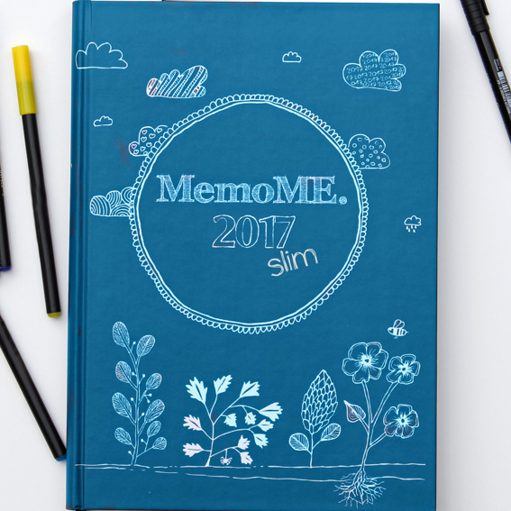 MemoME. Planer A5 slim