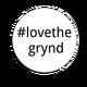 #lovethegrynd - Sticker