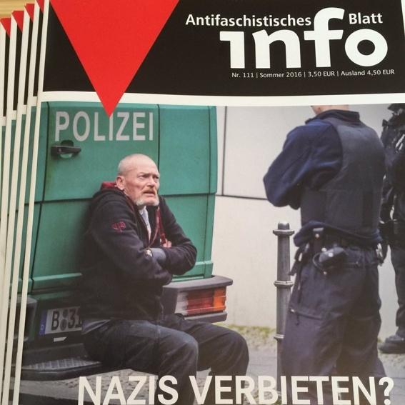 Nachgelegt: Jahresabo Antifaschistisches Infoblatt