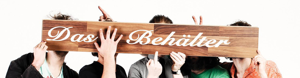 """Das Behälter """"the world is all that is the case"""" - LP Debut"""