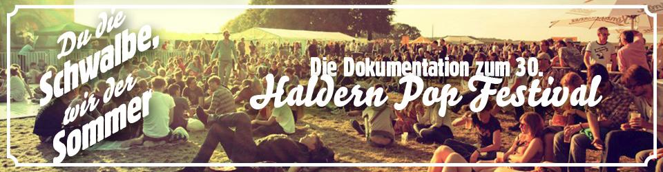 Dokumentation 30 Jahre Haldern Pop Festival