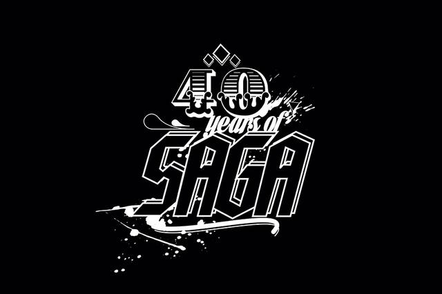Das Buch: 40 Years Of SAGA
