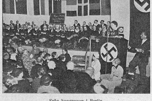 Buchprojekt zur Reichshebammenführerin
