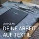 Deine Abschlussarbeit auf Textil verewigt