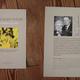 original signiertes Broschüre - David gegen Goliath / Kein Patent auf Leben - NEU