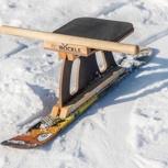 Ski-Böckle inklusive Ski