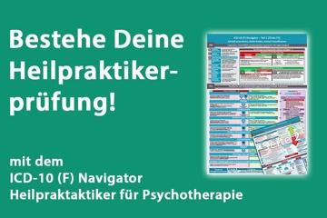 ICD-10 (F) Navigator & Poster für Heilpraktiker
