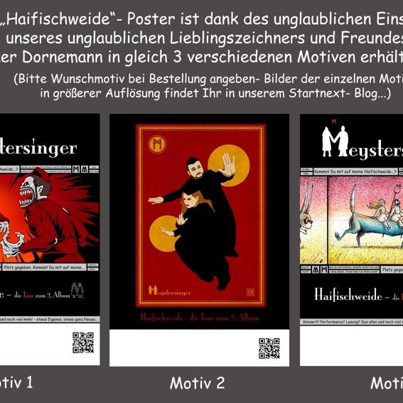 """""""Haifischweide""""- Poster 1"""