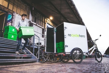 recyclehero - Mit Altglas Gutes tun.
