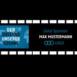 Gold-Sponsor / Logo im Abspann