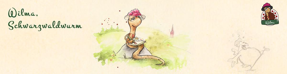 Wilma, Schwarzwaldwurm (Ein Buch für Kinder & Junggebliebene)
