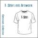 T-Shirt mit unserem Artwork