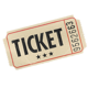 Ticket für eine Nacht, Halbpension und Party (ohne Transport)