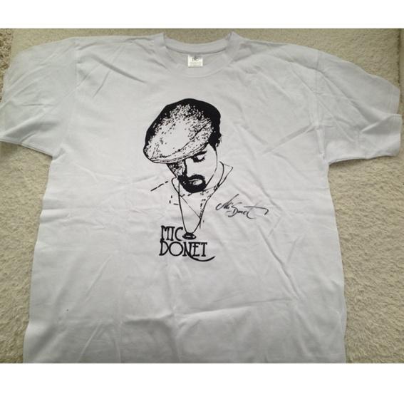 Signiertes Shirt von MIC DONET