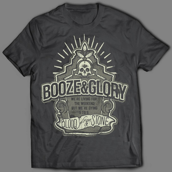 "BOOZE & GLORY ""Blood from a stone"""