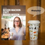 """Buch """"Besser machen statt besser wissen"""" +ToGoAgain-Becher"""