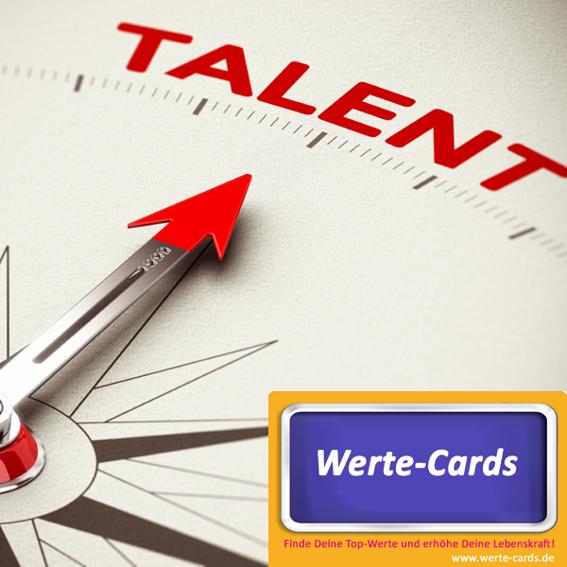 1 Set Werte-Cards + 1 Talente-Liste