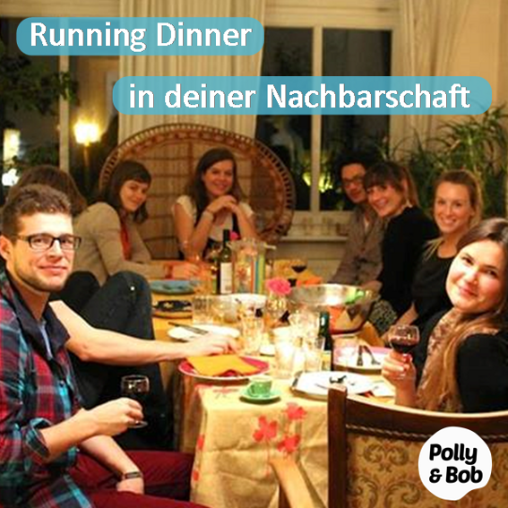 ein Running Dinner in deiner Nachbarschaft + 6 Teona Tomi Postkarten (1 Set) + 6 Jahre Mitgliedschaft im Wert von 144 Euro